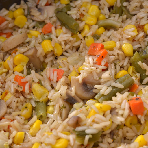 как приготовить в мультиварке рис с овощами